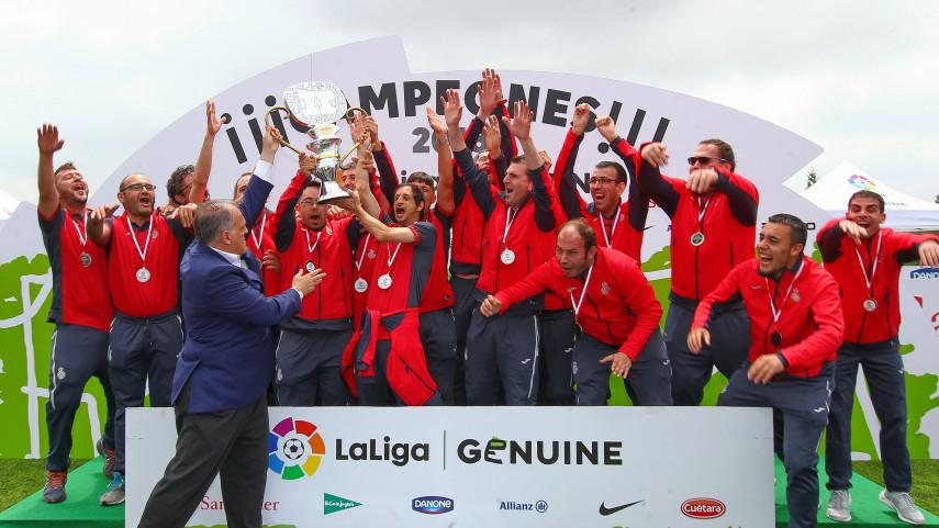 El RCD Espanyol, campeón de LaLiga Genuine