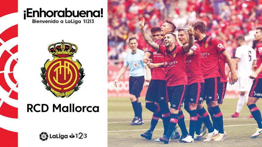 El RCD Mallorca regresa a LaLiga 1l2l3
