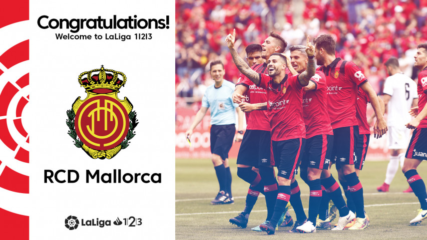 Mallorca seal immediate return to LaLiga 1l2l3