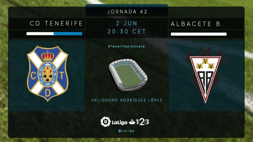 El Albacete se juega la permanencia en Tenerife