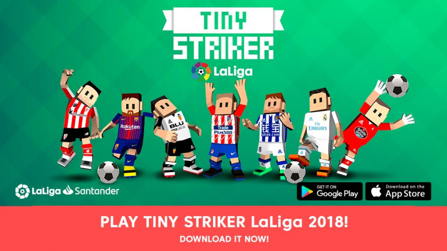 be a shooting star with tiny striker laliga s new game news