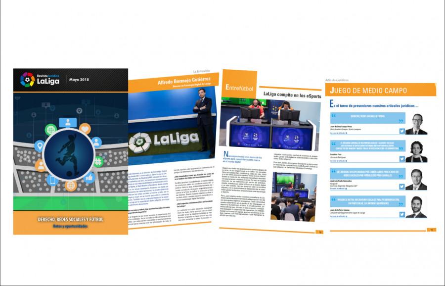No te pierdas todas las cuestiones legales acerca de las Redes Sociales en la Revista Jurídica LaLiga