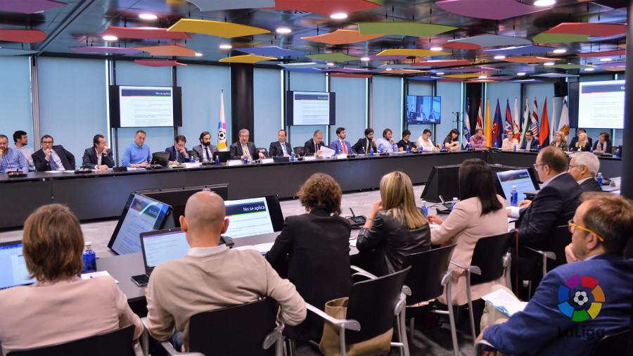 LaLiga analiza el nuevo Reglamento de Protección de Datos Personales y su aplicación al ámbito de la actividad deportiva