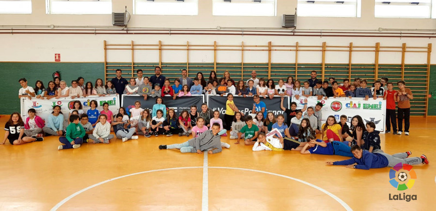 Finalizado el programa de dinamización de patios escolares 'En mi equipo Juegan Todos'