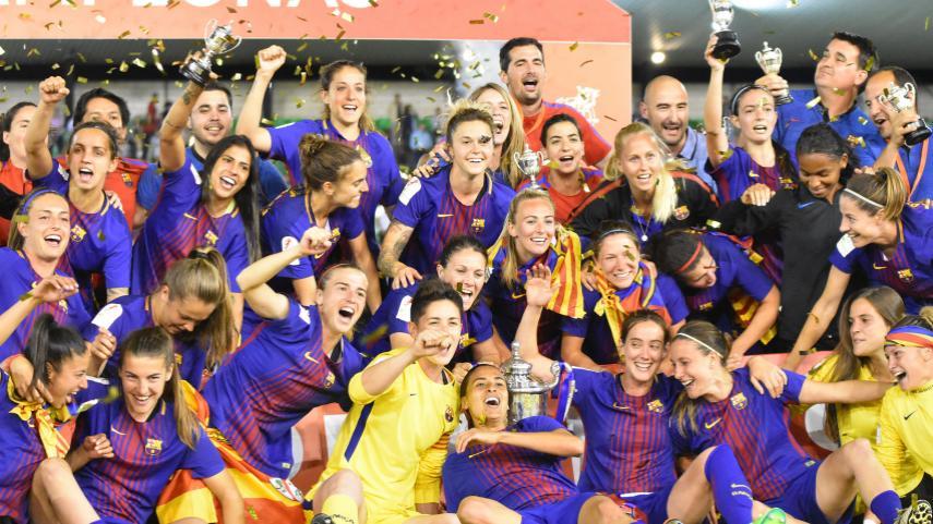 El FC Barcelona se proclama campeón de la Copa de la Reina