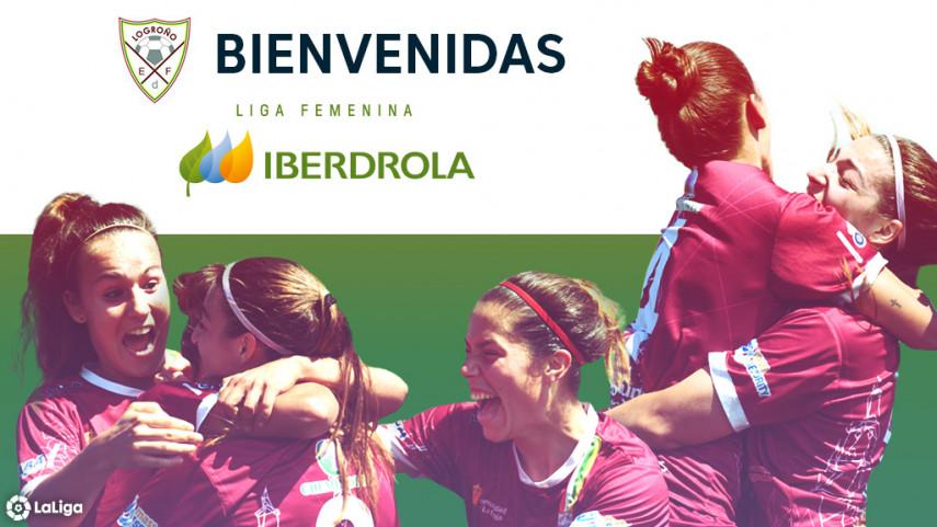 El EF Logroño, nuevo equipo de la Liga Iberdrola
