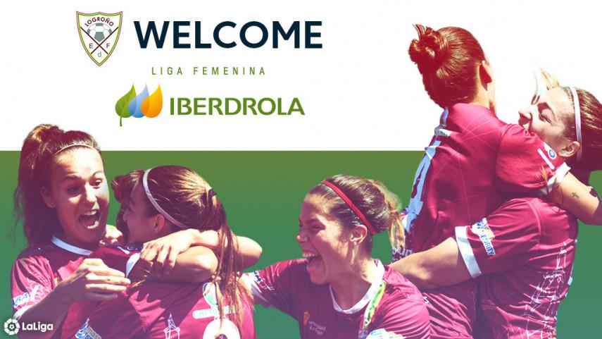 EF Logroño win promotion to the Liga Iberdrola