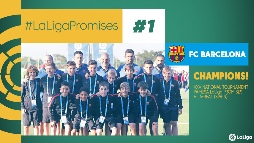 FC Barcelona win the LaLiga Promises!