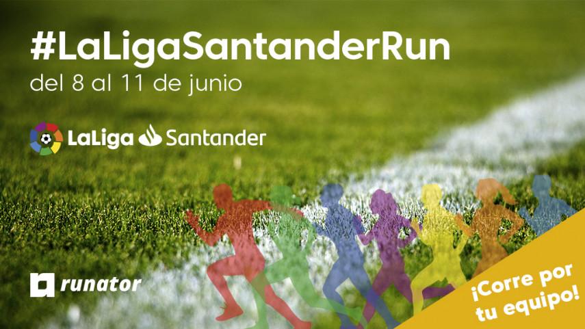 Corre por tu equipo con LaLiga Run
