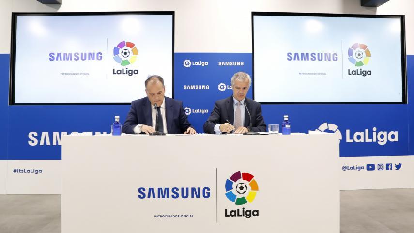 Samsung proporcionará a LaLiga la tecnología más innovadora durante los próximos tres años
