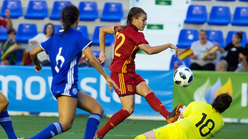 España, clasificada para el Mundial de Francia