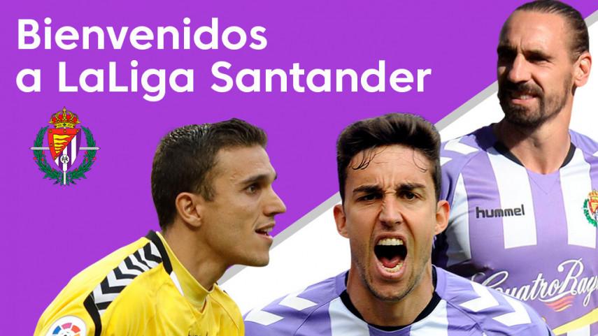 El R. Valladolid es nuevo equipo de LaLiga Santander