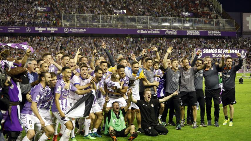 Las claves del regreso del R. Valladolid a LaLiga Santander