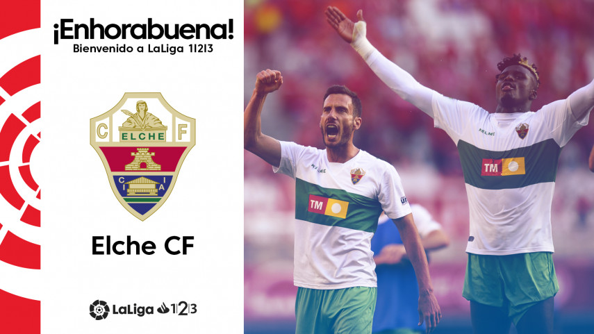El Elche CF, nuevo equipo de LaLiga 1|2|3