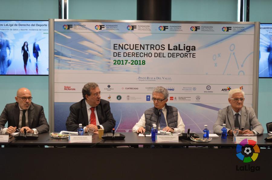 Finalizan los Encuentros de LaLiga de Derecho del Deporte 2017-2018