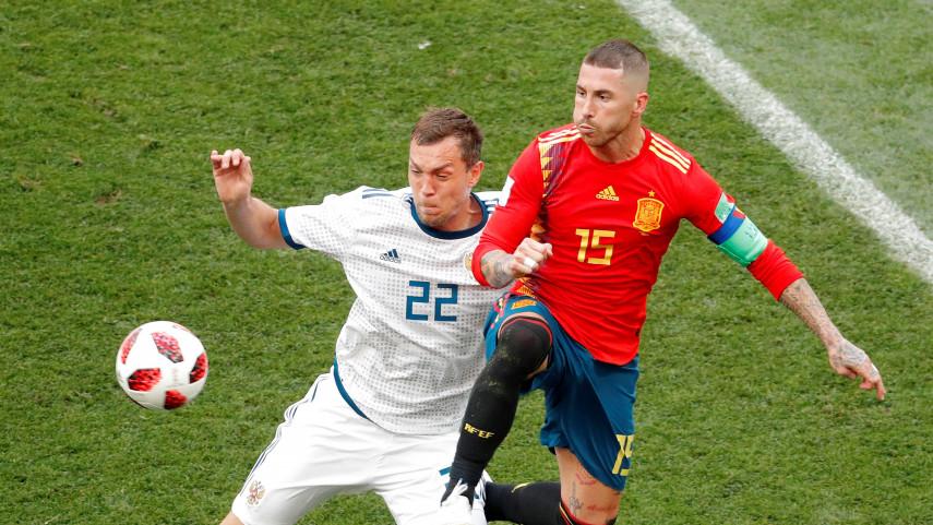 Rusia elimina a España del Mundial