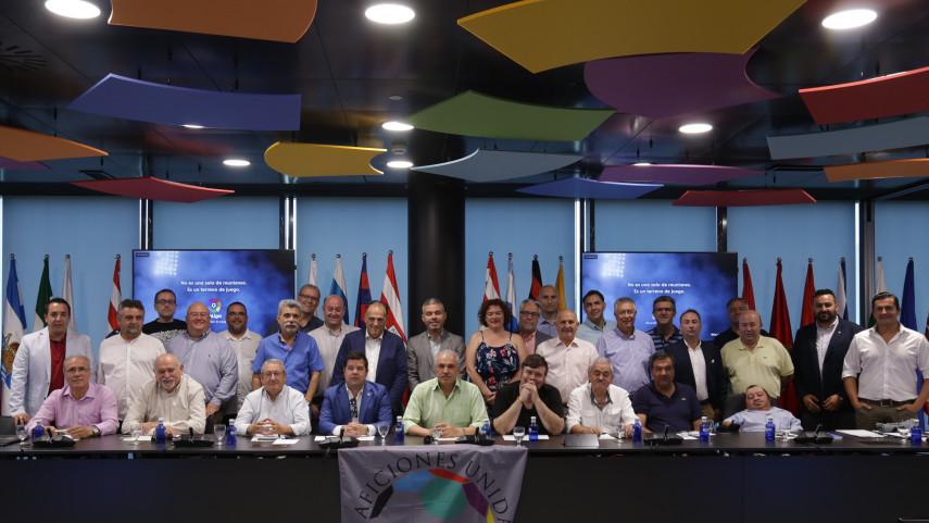 LaLiga recibe a los presidentes de las Federaciones de Peñas