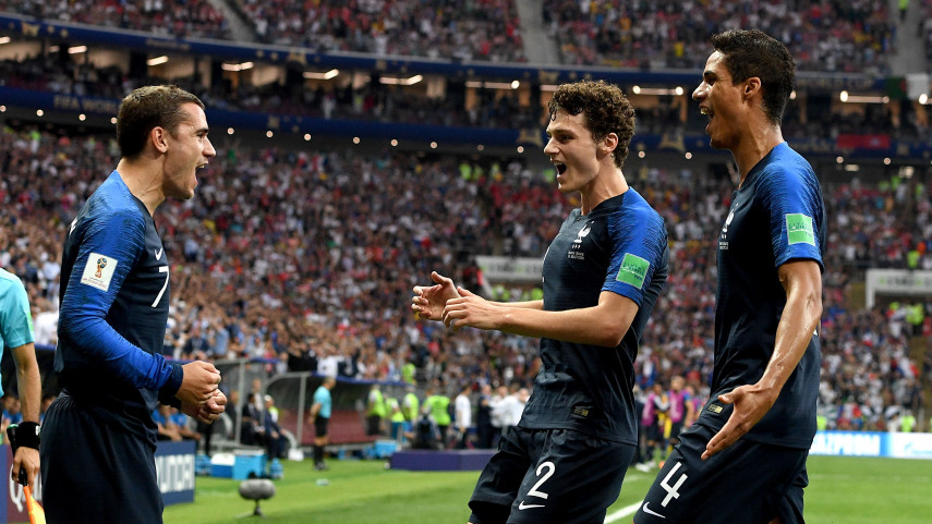 Lucas, Umtiti, Varane, Dembélé, N'Zonzi y Griezmann conquistan el Mundial con Francia