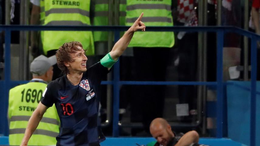 Luka Modric, Balón de Oro del Mundial