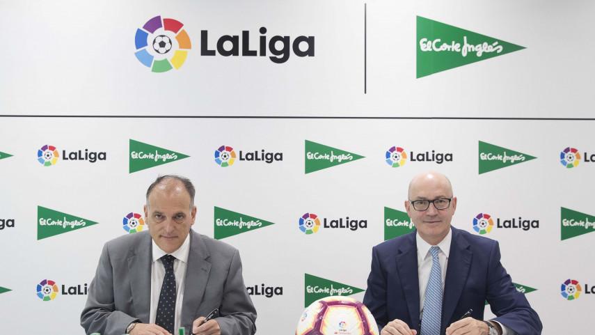 El Corte Inglés apuesta por LaLiga durante tres temporadas más