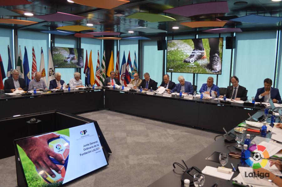 La Fundación de LaLiga celebra su Junta General Ordinaria