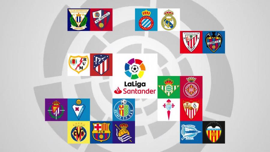 Calendario De La Liga Espanola De Futbol.El Calendario Asimetrico Llega A Laliga Noticias Liga De Futbol
