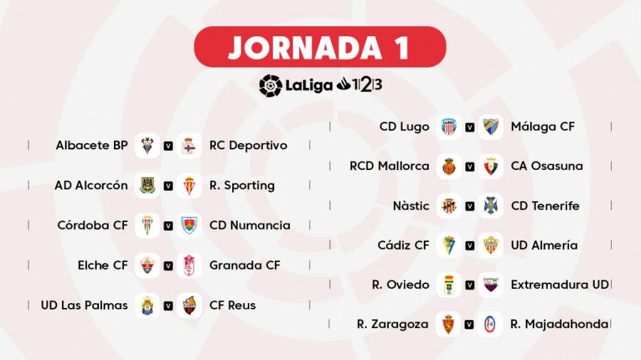 Calendario La Liga 2019.El Calendario Oficial De Laliga 1l2l3 2018 19 A Un Clic Noticias