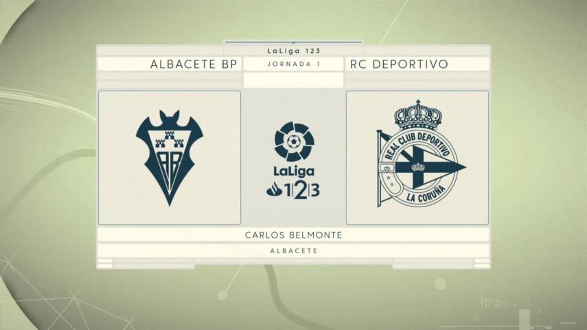 El Dépor viaja a Albacete en su primer encuentro de LaLiga 1|2|3