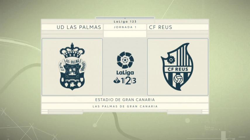 Las Palmas comienza su andadura frente al Reus