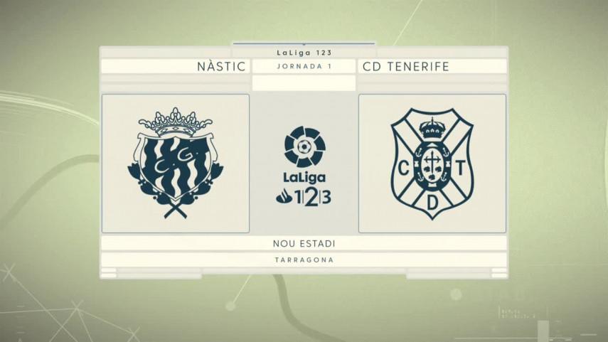 Nastic y Tenerife quieren empezar con buen pie