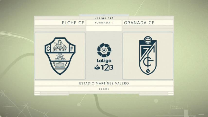Punto de partida para Elche y Granada