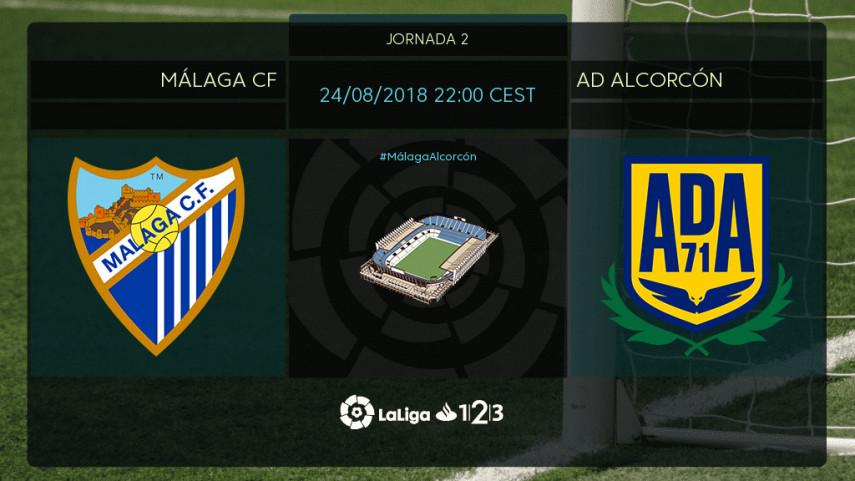 El Málaga, a comenzar LaLiga 1l2l3 con buen pie