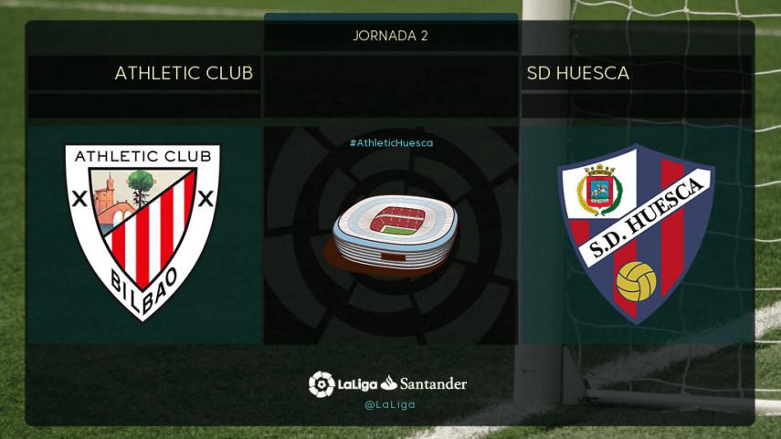 El Huesca busca una nueva sorpresa en San Mamés