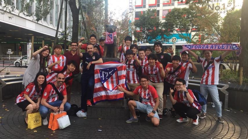 Primera peña atlética en Japón: Peña Atlético Sol Naciente
