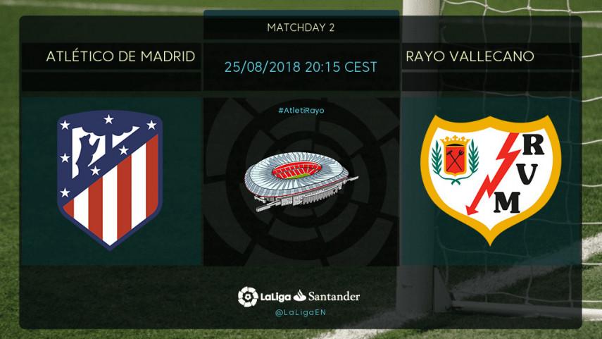 Preview: Atletico Madrid v Rayo Vallecano