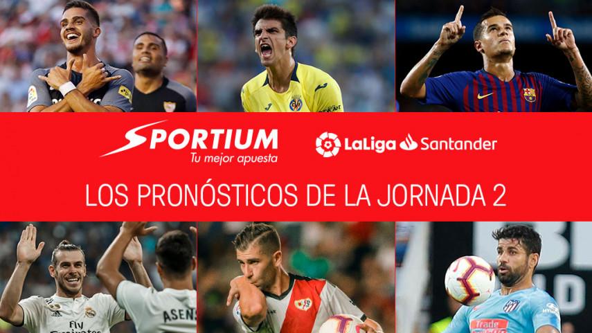 Los pronósticos de la jornada 2 de LaLiga Santander