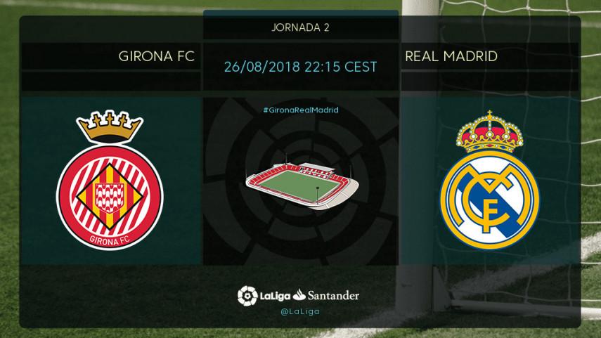 Montilivi y el Girona FC miden al Real Madrid de Lopetegui