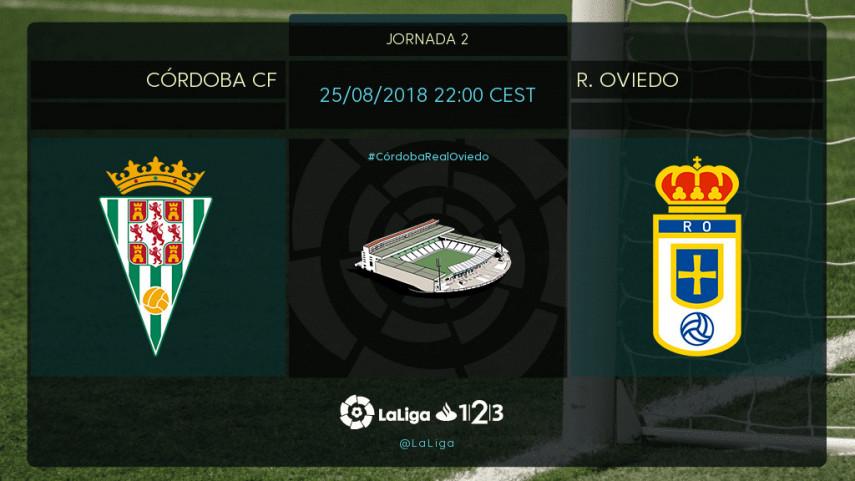 Córdoba CF y Real Oviedo, a despegar en el Nuevo Arcángel