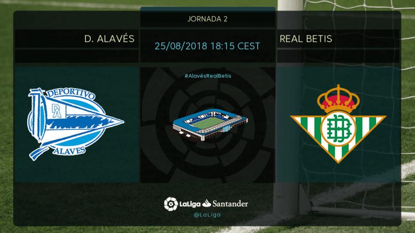 Alavés y Betis, a por los primeros tres puntos