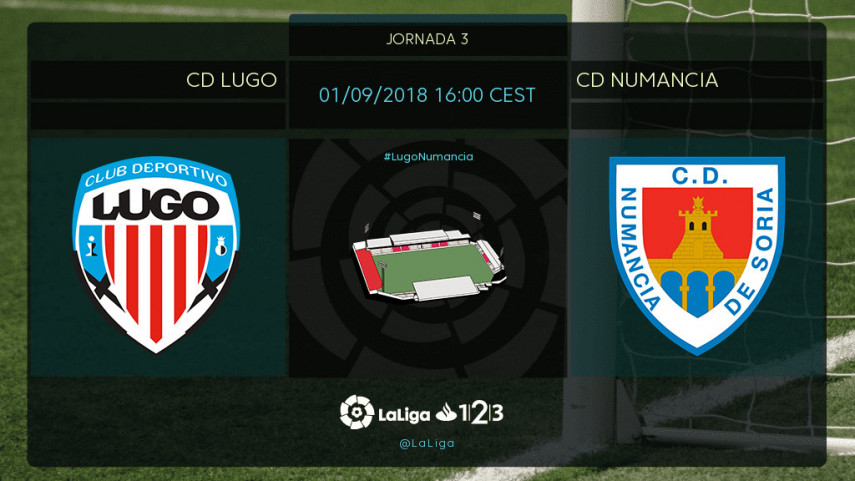 Lugo y Numancia, a por la primera victoria del curso