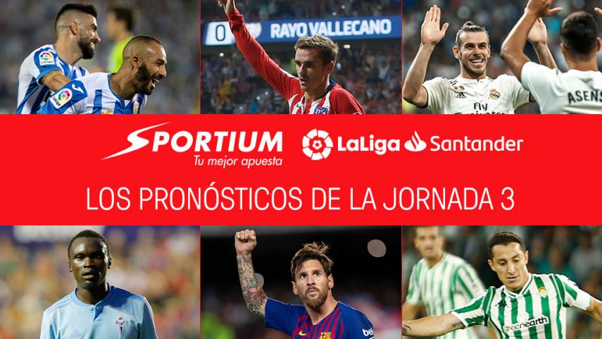 Los pronósticos de la jornada 3 de LaLiga Santander