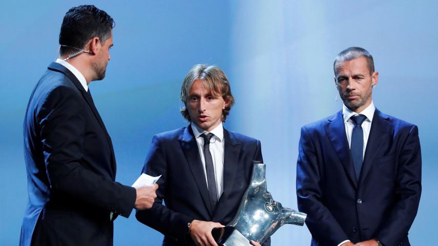 Los jugadores de LaLiga Santander copan los Premios de la Champions League