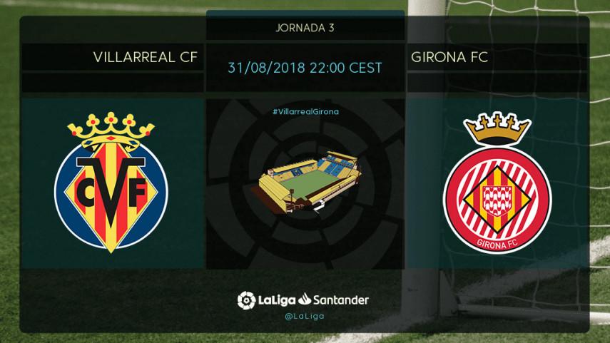 Villarreal y Girona quieren dar un paso adelante