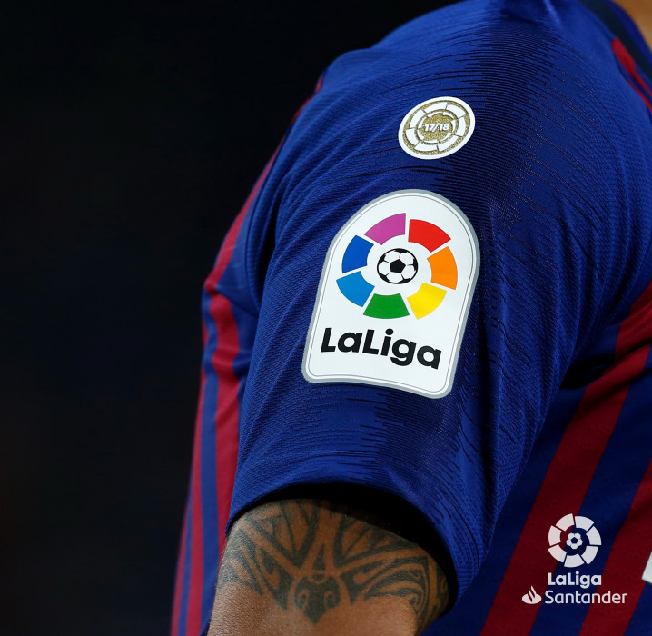 d8ac74aa6 FC Barcelona are proud to become the first team in the competition to wear  the new badge