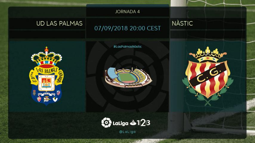 El Nàstic busca una reacción en el Estadio de Gran Canaria