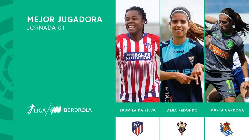 ¿Quién fue la mejor jugadora de la primera jornada de la Liga Iberdrola?
