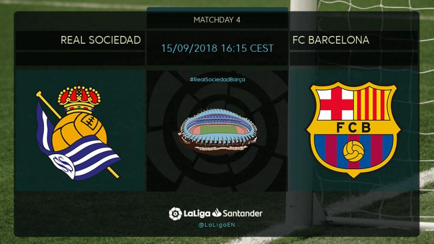 Preview: Real Sociedad v FC Barcelona