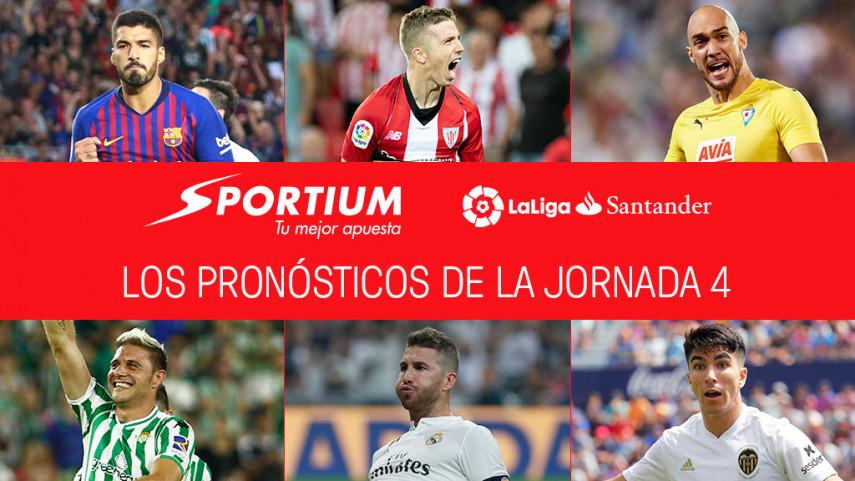Los pronósticos de la jornada 4 de LaLiga Santander