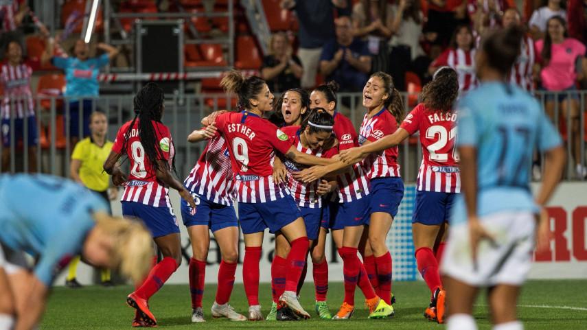 El At. Madrid Femenino suma un valioso empate ante el Manchester City