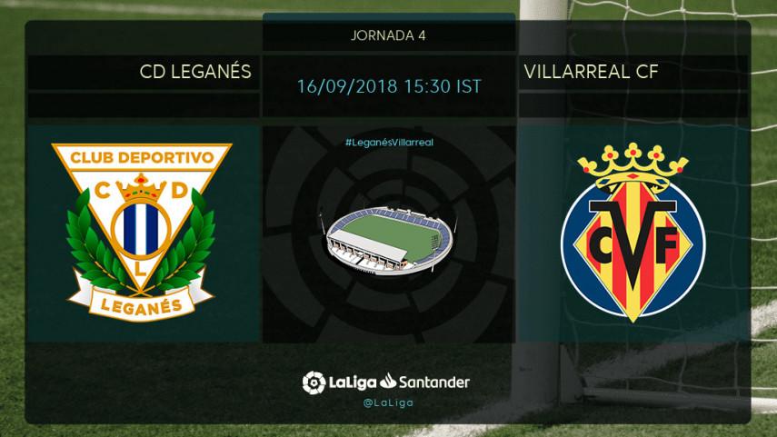 CD Leganés y Villarreal, en busca de una reacción